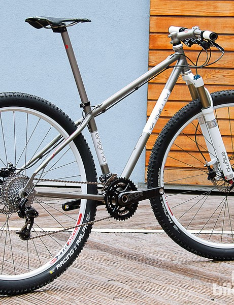 Enigma's 29er rolled away with the 'Best Mountain Bike' award