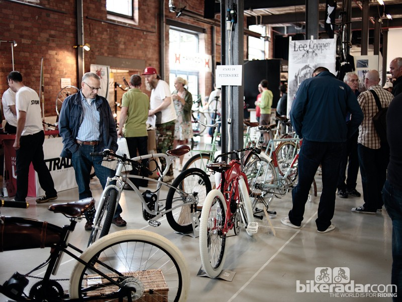 The inaugural show had plenty of interesting bikes to admire and drool over