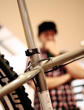 What Mountain Bike's Steve Worland and Matt Skinner were judges at the show