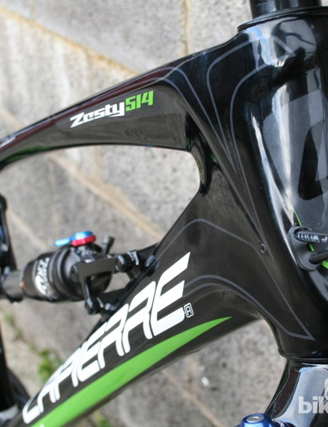The Lapierre Zesty is lighter, slacker and has improved suspension for 2012