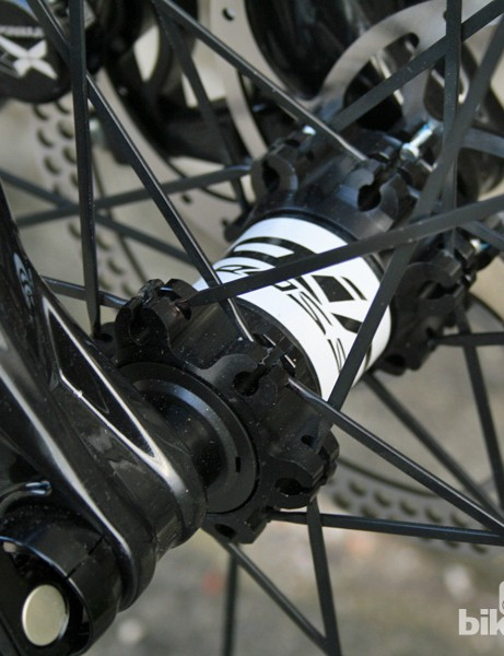 The new carbon Zestys all get front through-axles but the alloy models do without