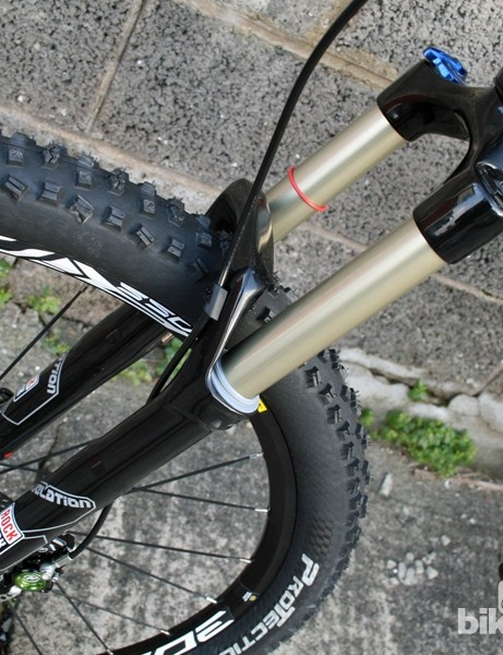Lapierre's entry-level Zestys come with RockShox Revelations while pricier models get Fox 32 FITs