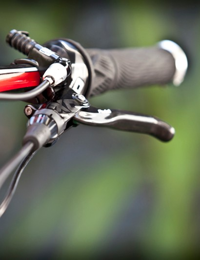 Avid's latest Taperbore-equipped hydraulic disc brakes have a new bleed port, revised internal materials and updated internal shaping