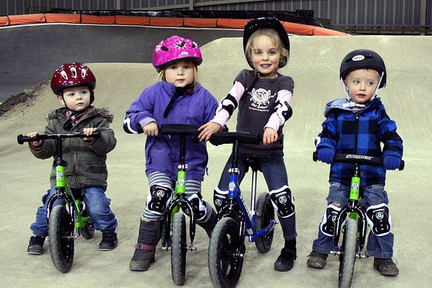 The bikes teach coordination, confidence and balance without the need to rely on stabilisers, which are said to be counterproductive