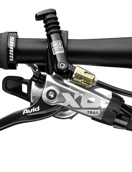 Avid X0 Trail lever with MatchMaker clamp (silver)