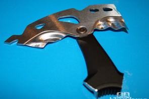 ... plus a three-layer construction (steel/aluminium/steel) to combat heat build-up