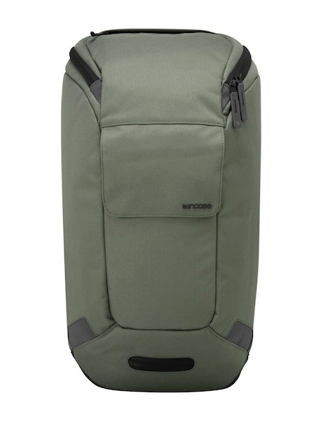 Minimalist on the outside, function packed inside, say Incase; the standard backpack costs US$119.95
