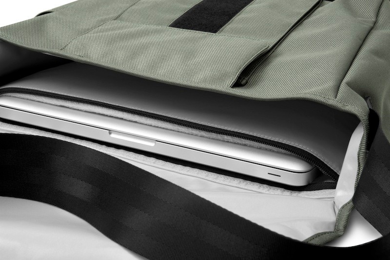 A look at the Range Messenger's internal computer sleeve