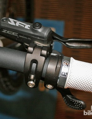 Shimano Zee shifter and brake lever