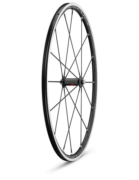The Racing 1 Competition front wheel is unchanged structurally from the standard version