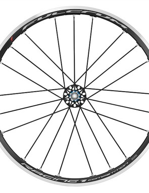 The new flange drops 43g front he standard Racing 1 rear wheel