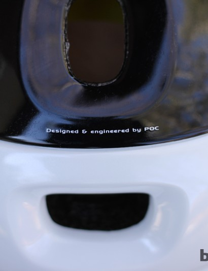 POC designed and engineered the helmet save for the MIPS