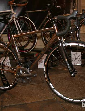Bike builders Enigma are proud to work with steel - all their steel frame-building is done in-house at their East Sussex base - but also with titanium, claiming to be the UK's only titanium frame makers. The company have been running for five years and are a six-strong collective with a wealth of experience, some with 20 and 30 years in the industry. They pride themselves on offering off-the-shelf frame options but also a bespoke fitting and building service. Pictured is the Echo, at £1,269 for the frame
