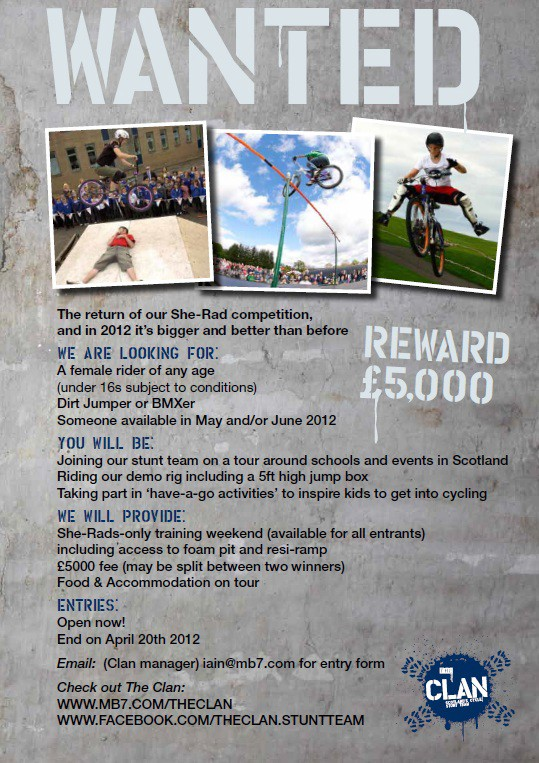 Danny MacAskill was a founding member of The Clan