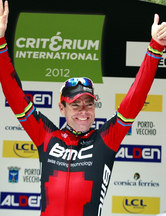 Cadel Evans (BMC Racing) returned to competition in 2012 with victory in the Criterium International