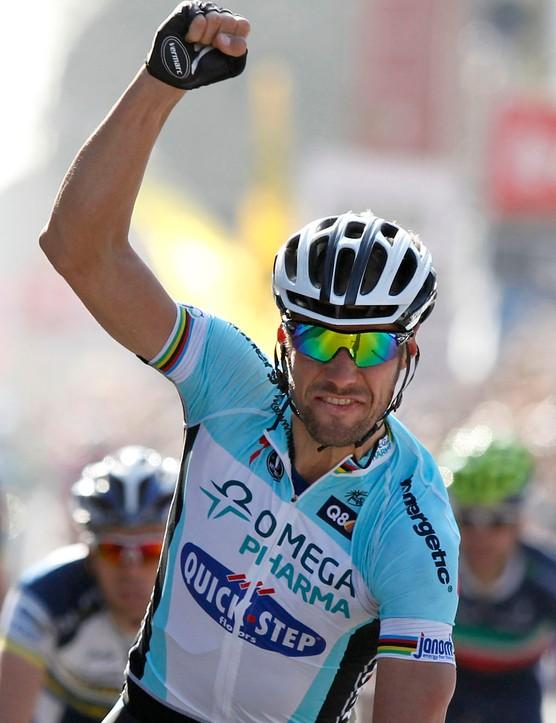 Boonen's victory was his third in Gent-Wevelgem