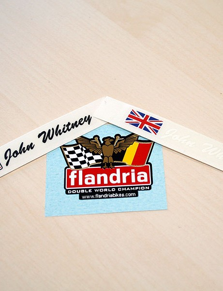 Flandria custom stickers