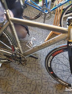 Titanium time trial bike from Burls