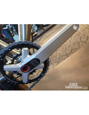 Leonardi Racing cranks on the Crisp Titanium Il Capo