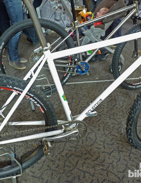 Curtis are known for their BMX and jump frames but they had a cross-country bike and even a 29er on show in Bristol
