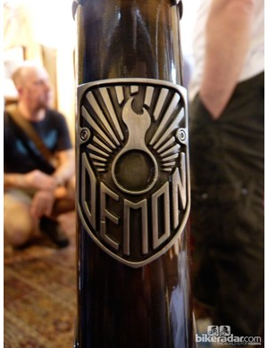 Demon Frameworks' distinctive head badge