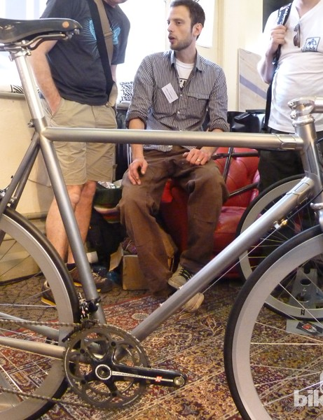 Demon Frameworks' Manhattan won 'best road bike' at the North American Handmade Bicycle Show