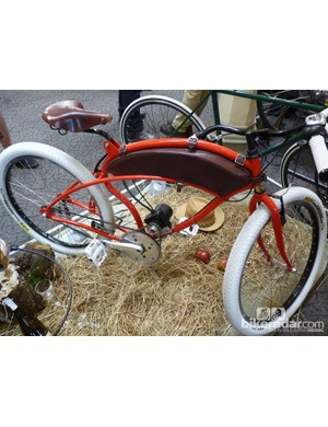 Peters's Bike were back after attracting plenty of admiring glances at last year's show