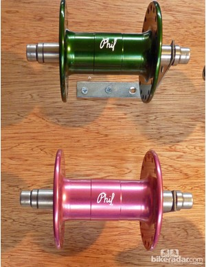 Phil Wood hubs are available in a plethora of colours