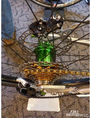 Green hubs on the Torus