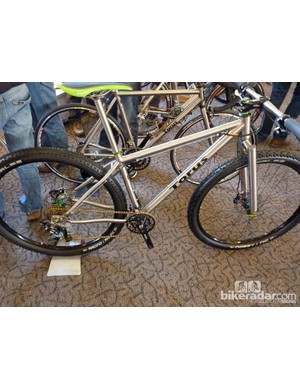 Torus were showing this rigid titanium 29er