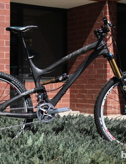 Yeti's SB-66 C weighs 25.5lb as photographed