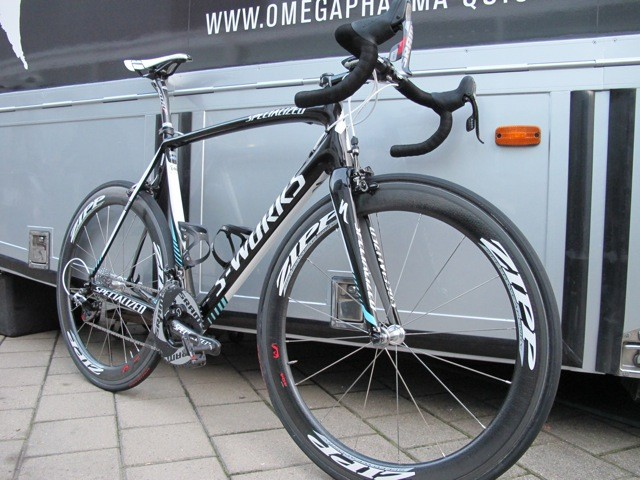 Tom Boonen (Omega Pharma-Quick Step) has found early season success aboard his new Specialized S-Works Tarmac SL4