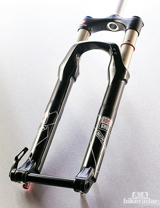 RockShox Sektor RL Dual Position Coil suspension fork (model pictured has a 20mm axle, not the 15mm version tested)