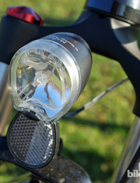 The Volt Pulse comes with an excellent LED headlight