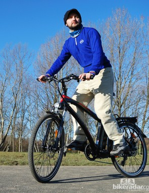 The Volt Pulse gives a pleasant ride whether ridden with or without power