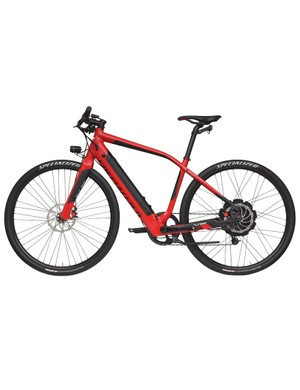 The Specialized Turbo's alloy frame certainly looks sleek (as e-bikes go)