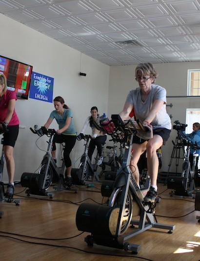Energia's Green Revolution spin class