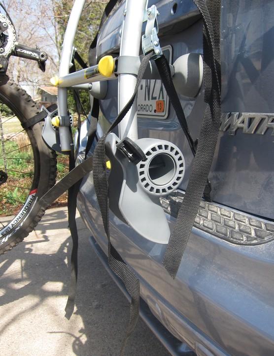 The lower wheel mount