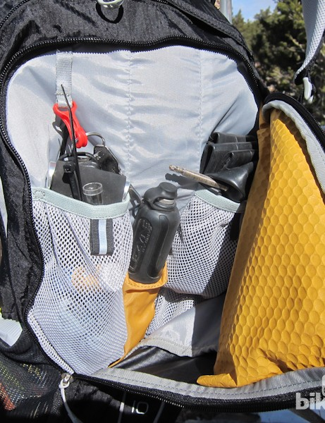 The second largest compartment features three internal pockets to keep things sorted