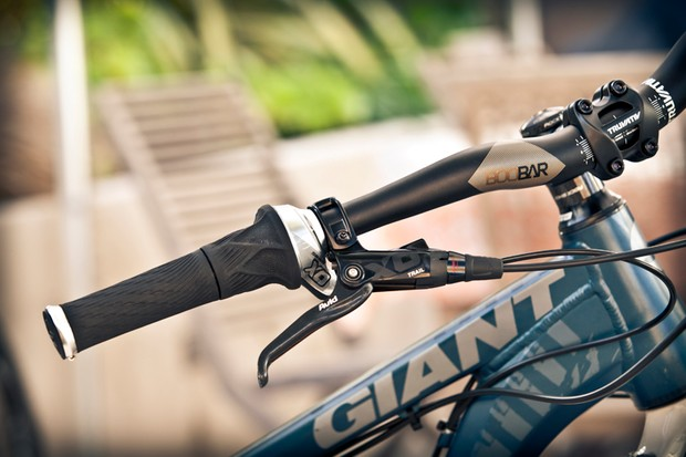 The new Grip Shift features three sets of ball bearings per shifter for an impressively fluid and smooth feel