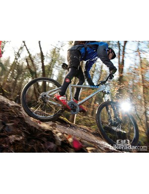 The Genesis Core is a lively, lightweight UK-bred hardtail for maximum trail fun