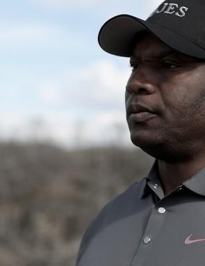 Bo Jackson on site in Alabama