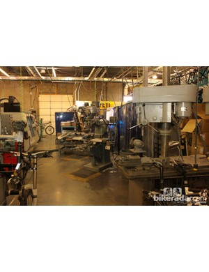 Yeti maintain a full machine shop, which is used for team, prototyping and custom work