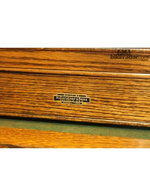 This Gerstner & Sons machinist's toolbox was made in Dayton, Ohio