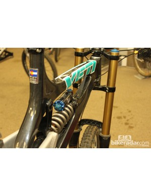 Yeti's new frame has passed factory strength tests, now they're on to proving ride quality and real world durability