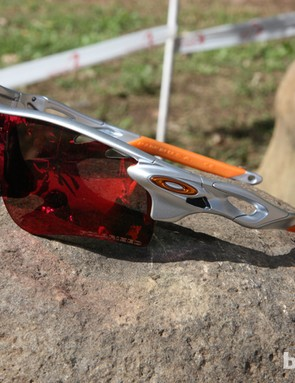 Oakley's new Radarlock is visually similar to the current Radar but it's actually an entirely new piece with Switchlock interchangeable lens technology and specific lenses