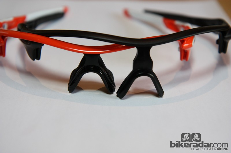 Oakley will offer Radarlock in both standard and XL fits with the latter option offering more lens coverage, particularly up top. The frames differ only in the nosepiece but Oakley doesn't intend for the pieces to be user-swappable. As before, standard and Asian-fit nosepads will be available, too