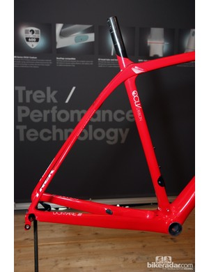 Trek incorporate giant chainstays and slim seatstays into the Domane frame but that's not the only way it provides comfort