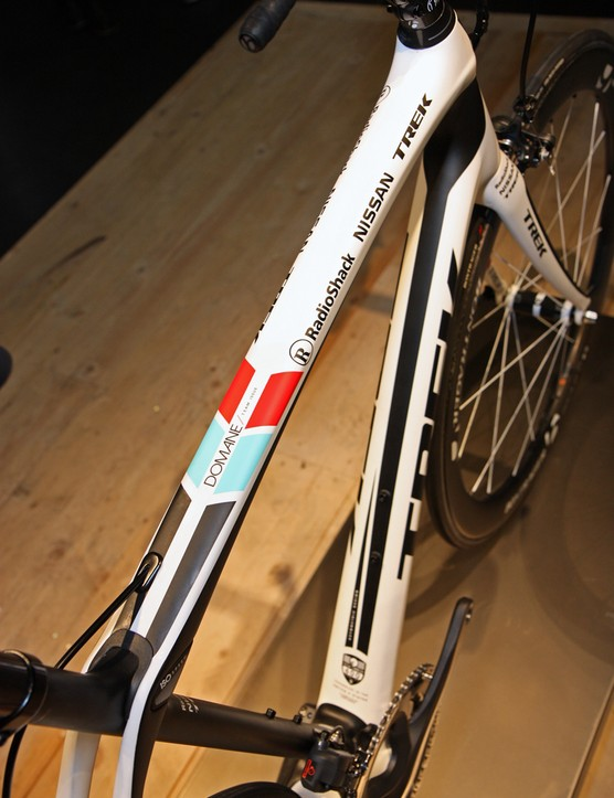 Trek say the Domane's IsoSpeed pivot allows for lots of ride comfort without negatively affecting head tube or overall frame stiffness – in fact, both figures are claimed to be better than that of the Madone