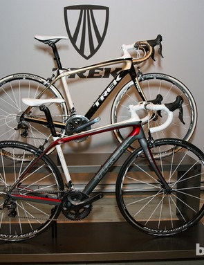 Trek will offer the Domane in a number of different models starting at around US$4,600 with Shimano Ultegra